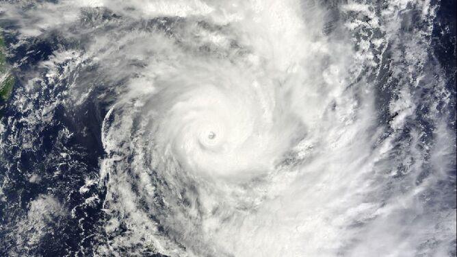 Cyklon Bansi 13 stycznia