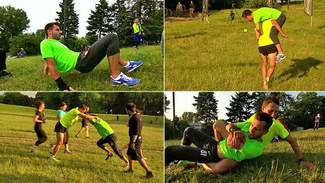 Oto trening amerykańskich rekrutów. Lepszy niż siłownia