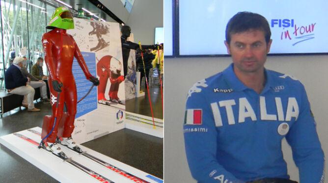 Ponad 250 km/h na nartach. Włoski narciarz szybszy niż pendolino