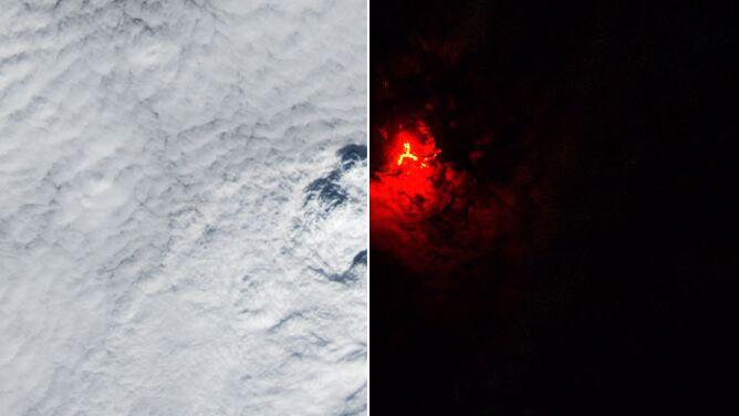 Fale chmur nad Islandią. Zobacz niezwykłe zjawisko na zdjęciach satelitarnych