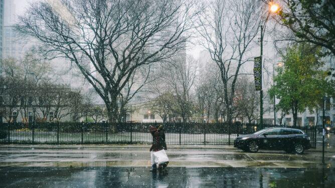 Pogoda na jutro: <br />deszcz ze śniegiem i mokry śnieg