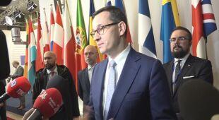 Premier o ustaleniach szczytu w Brukseli