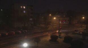 Miejscami spadł śnieg
